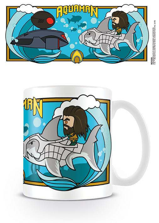 AQUAMAN - Mug - 315 ml - Under Water Clash