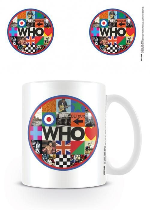 THE WHO - Mug - 315 ml - Target Album