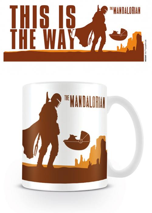 MANDALORIAN - Mug - 315 ml - This is the Way