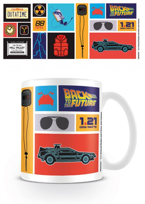 RETOUR VERS LE FUTUR - Mug - 315 ml - Collection