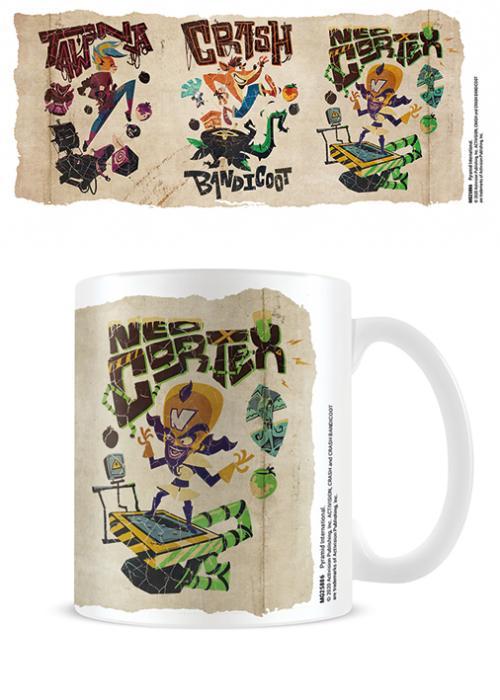 CRASH BANDICOOT 4 - Parch-Mental - Mug 315ml