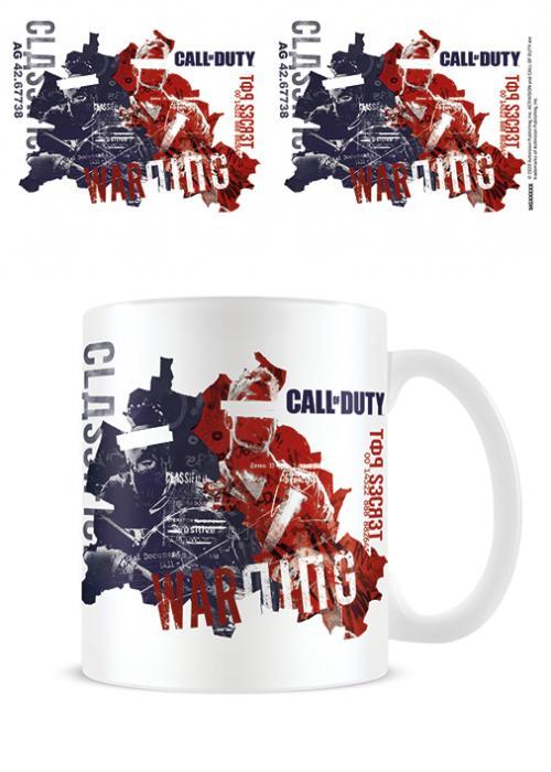 CALL OF DUTY : BLACK OPS COLD WAR - Warning - Mug 315ml