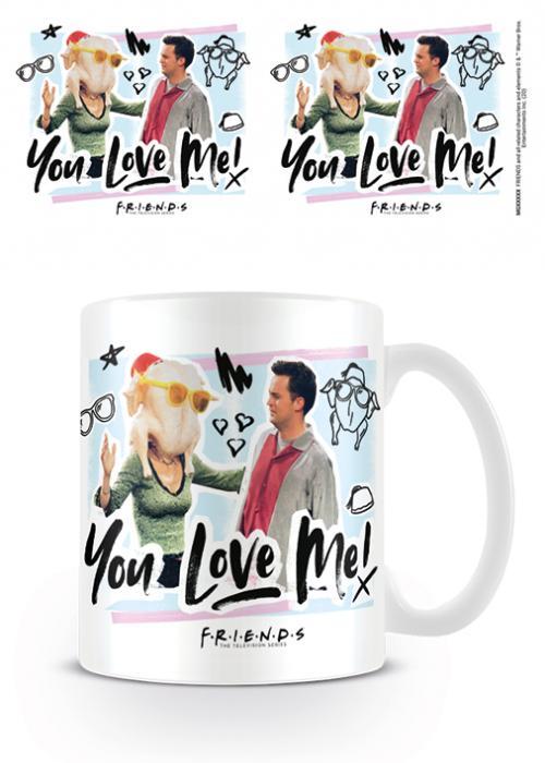 FRIENDS - You Love Me - Mug 315ml