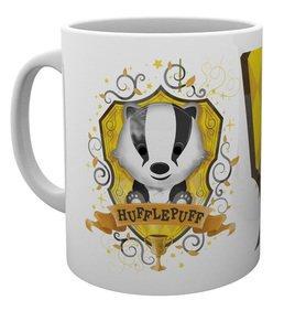HARRY POTTER - Mug - 315 ml - Hufflepuff Paint