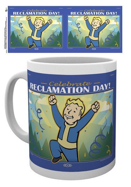 FALLOUT 76  - Mug - 315 ml - Reclamation Day