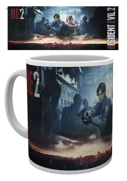 RESIDENT EVIL 2 - City Key Art - Mug 315ml