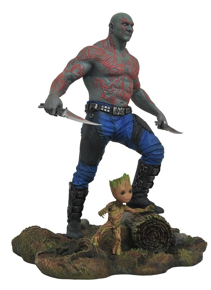 MARVEL GALLERY - Guardians of the Galaxy 2 - Drax & Baby Groot - 23cm