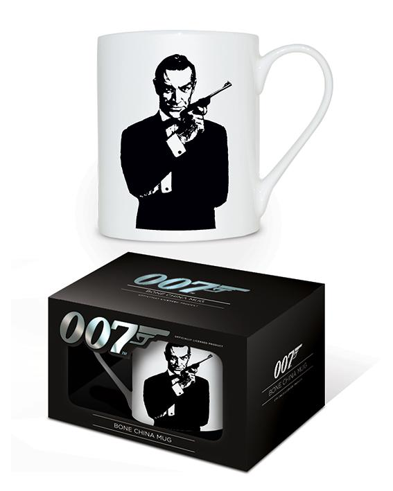 JAMES BOND - Bone China Mug 315 ml - The Name is ...