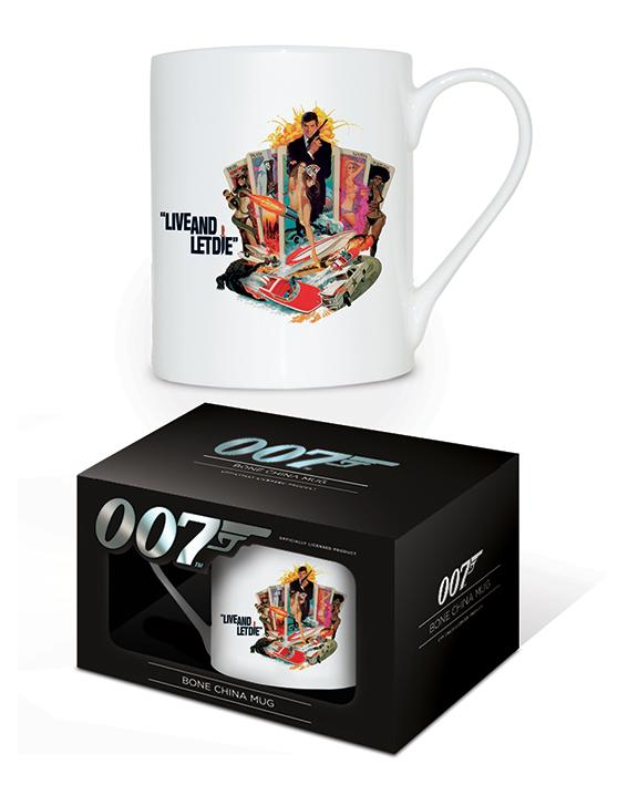 JAMES BOND - Bone China Mug 315 ml - Live And Let Die