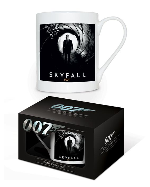 JAMES BOND - Bone China Mug 315 ml - Skyfall