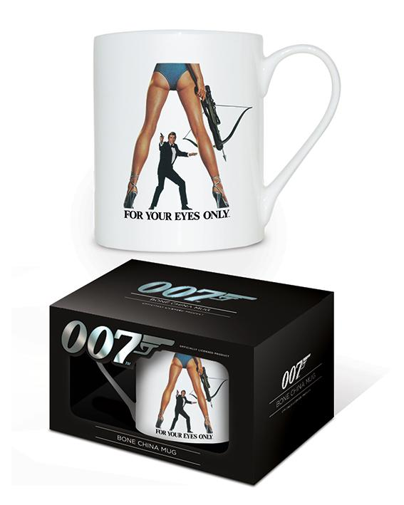 JAMES BOND - Bone China Mug 315 ml - For Your Eyes Only