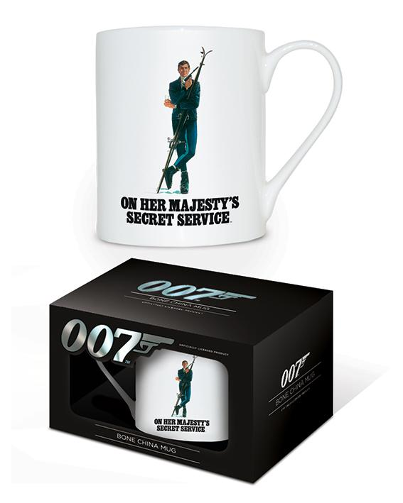 JAMES BOND - Bone China Mug 315 ml - OHMSS