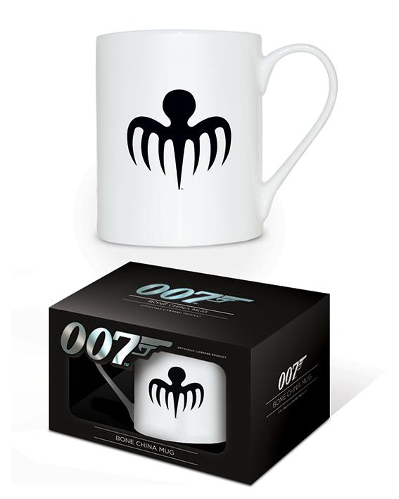 JAMES BOND - Bone China Mug 315 ml - Spectre Octopus Logo
