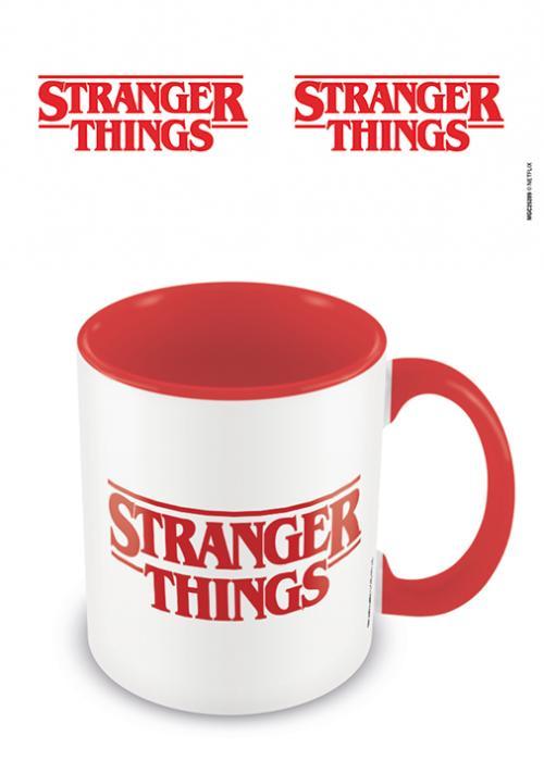 STRANGER THINGS - Logo - Mug intérieur coloré 315ml