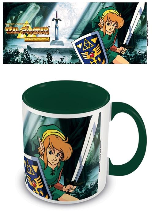 ZELDA - Coloured Inner Mug - The Lost Woods