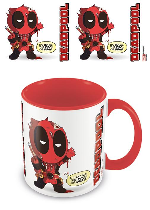 DEADPOOL - Coloured Inner Mug - From Awesome To Gruesome