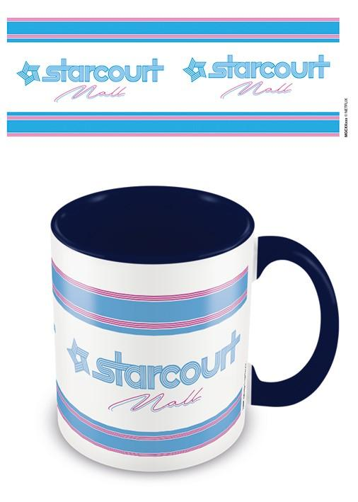 STRANGER THINGS - Coloured Inner Mug - Starcourt / Blue