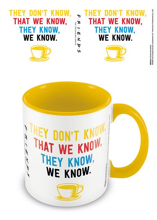 FRIENDS - Coloured Inner Mug - We Know