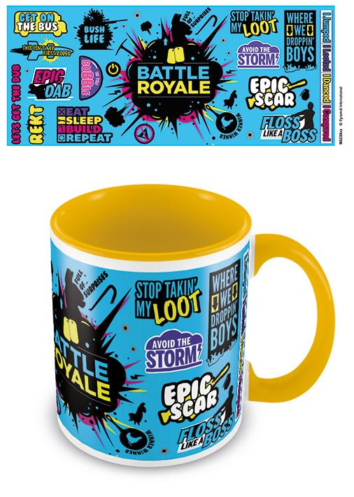 GAMING - Coloured Inner Mug - Battle Royal
