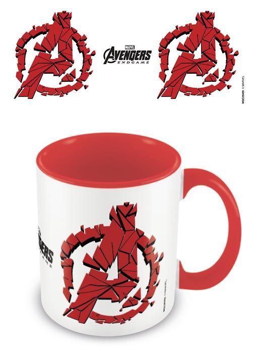 AVENGERS ENDGAME - Coloured Inner Mug - Shattered Logo