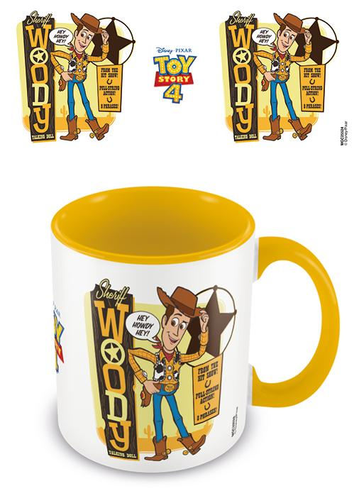 TOY STORY 4 - Coloured Inner Mug - Sheriff Woody