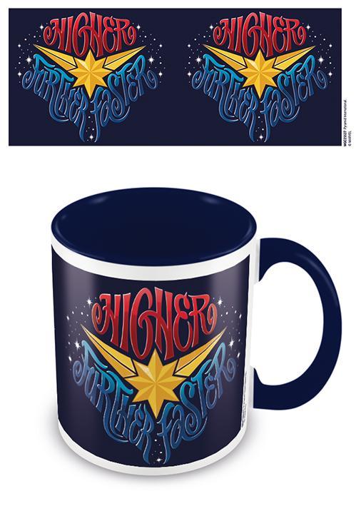 DC COMICS - Coloured Inner Mug - Captain Marvel - Blue