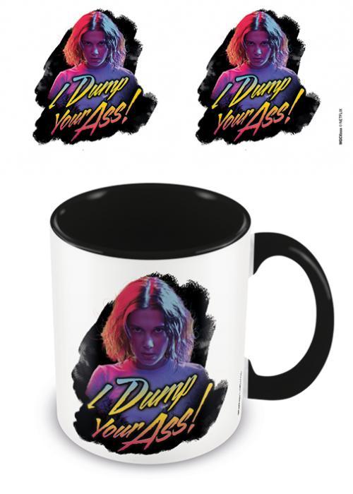 STRANGER THINGS - I Dump Your Ass - Mug intérieur coloré 315ml