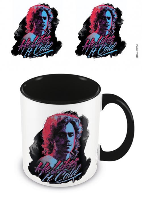 STRANGER THINGS - He Likes It Cold - Mug intérieur coloré 315ml