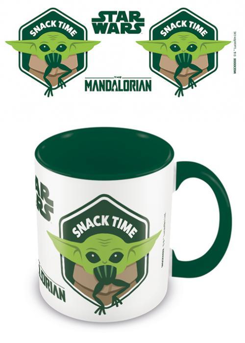 MANDALORIAN - Mug intérieur coloré - Snack Time