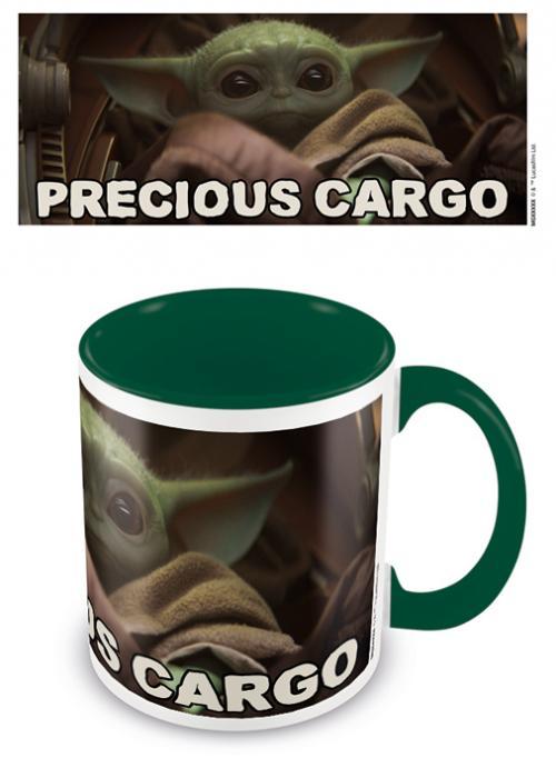 MANDALORIAN - Mug intérieur coloré - Precious Cargo