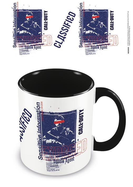 CALL OF DUTY : BLACK OPS COLD WAR - Double Agent - Mug 315ml_1