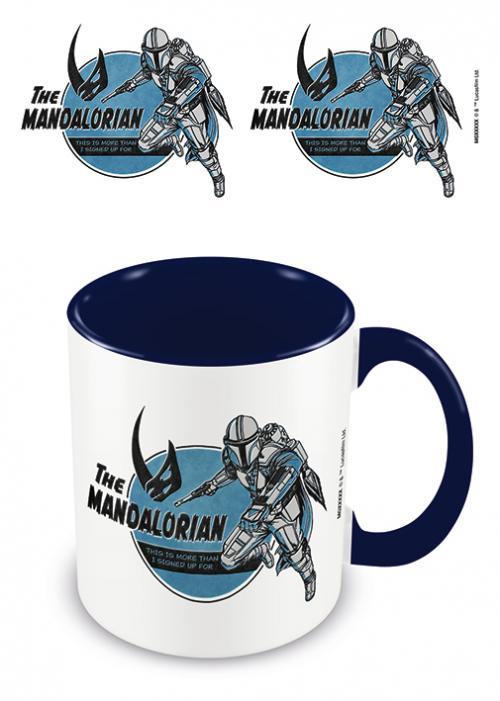 THE MANDALORIAN - This Is More Than... - Mug intérieur coloré 315ml