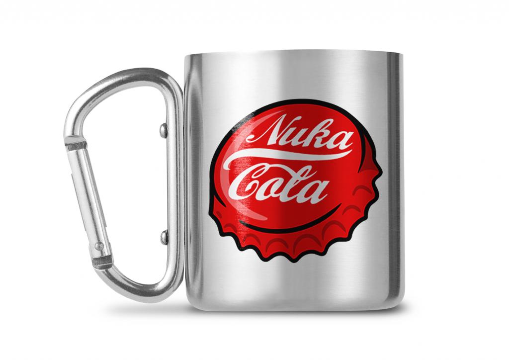 FALLOUT - Carabiner Mug - 240ml - Nuka Cola