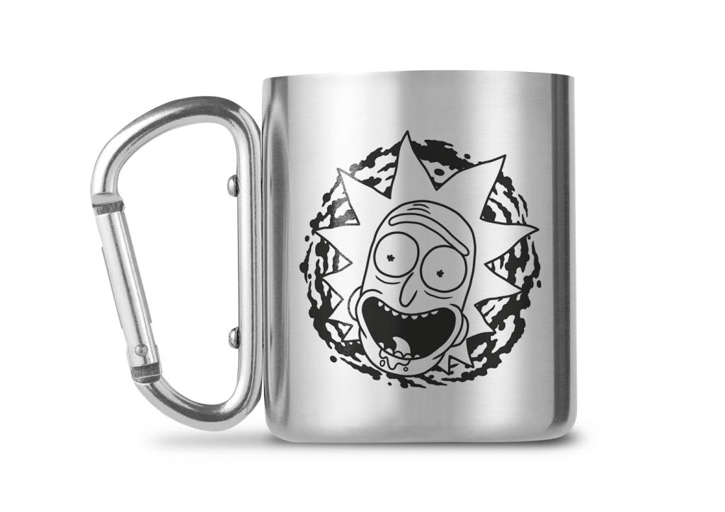 RICK & MORTY - Carabiner Mug - 240ml - Rick & Morty