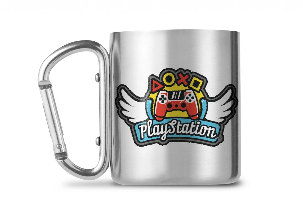 PLAYSTATION - Carabiner Mug - 240ml - Wings