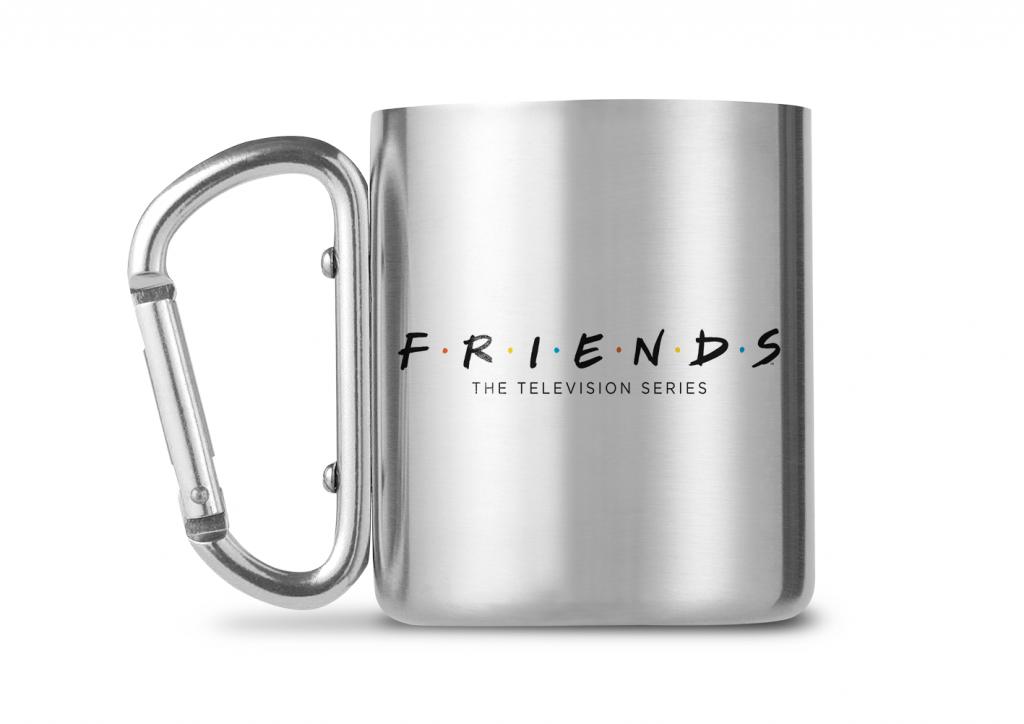FRIENDS - Carabiner Mug - 240ml - Logo