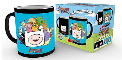 ADVENTURE TIME - Mug Heat Change 300 ml - Characters