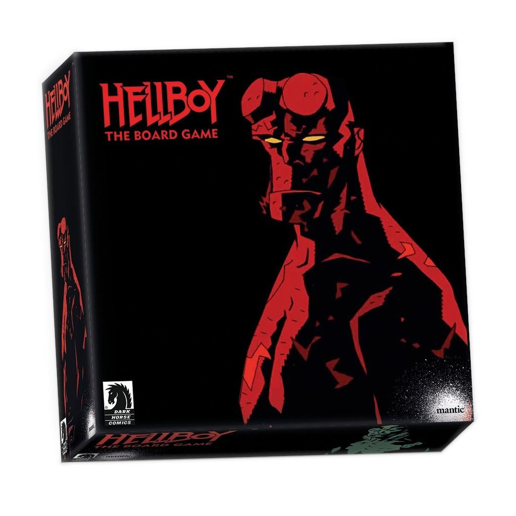 HELLBOY - Board Game - 'Version Anglaise'