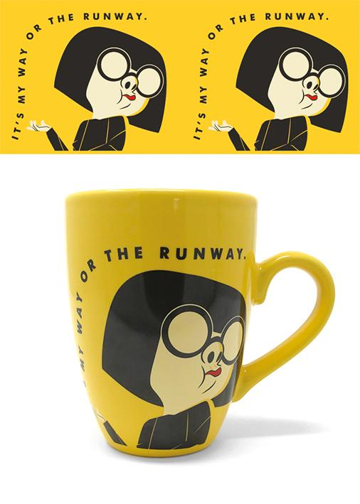 INCREDIBLES 2 - Latte Mug - 315 ml - It's My Way Or The Runway