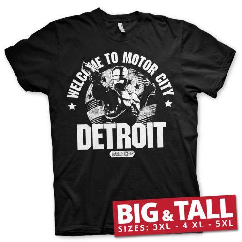 ROBOCOP - T-Shirt Big & Tall - Welcome to Motor City (3XL)