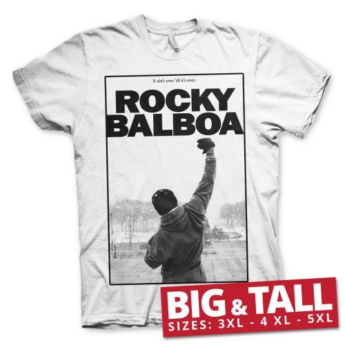 ROCKY BALBOA - T-Shirt Big & Tall - It' Ain't Over (3XL)