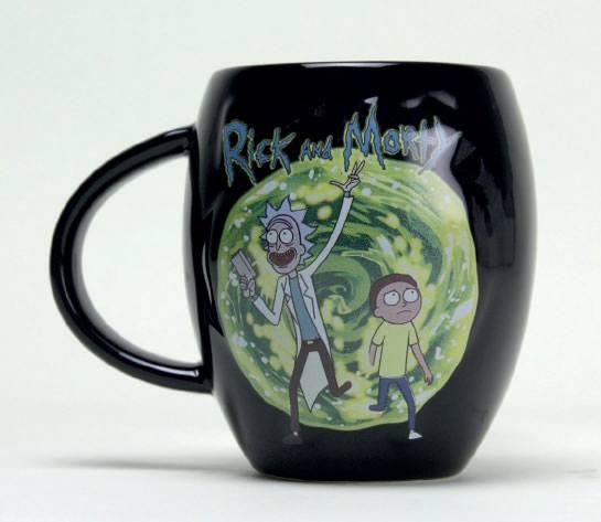RICK & MORTY - Oval Mug 475 ml - Portal