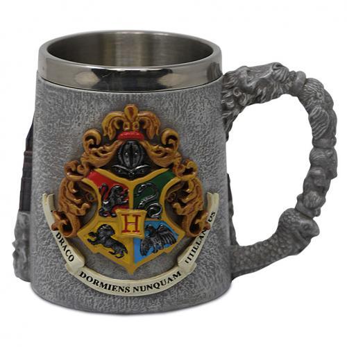 HARRY POTTER - Hogwarts School - Mug polyresin 350ml