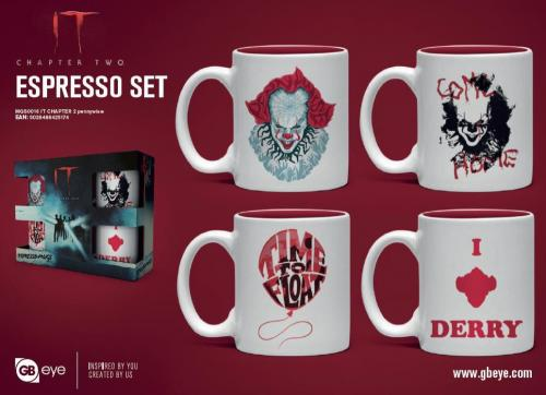 CA - Set de 4 mini mugs 150ml - Pennywise