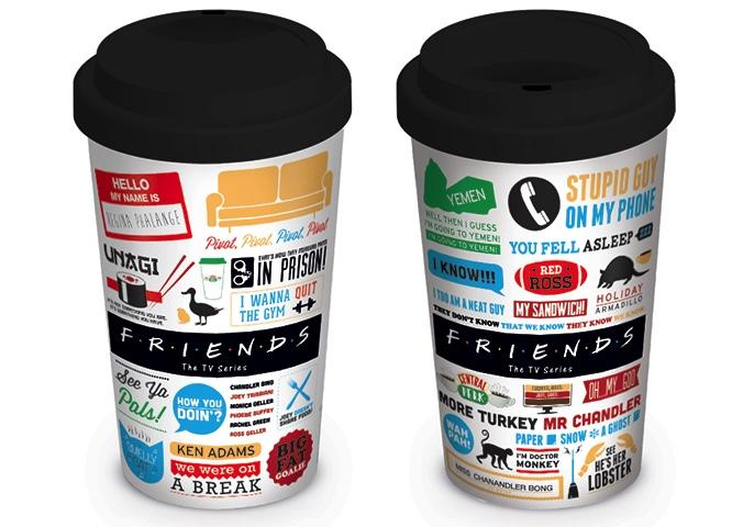 FRIENDS - Travel Mug 340 ml - Iconographic