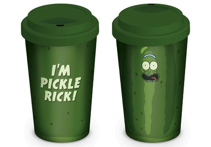 RICK & MORTY - Travel Mug 340 ml - Pickle Rick
