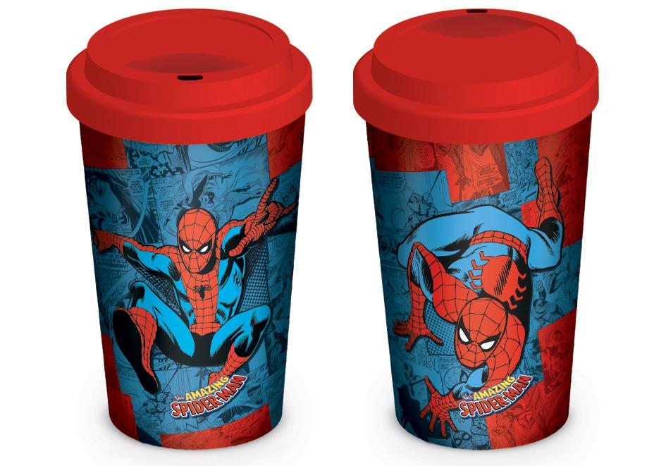 MARVEL RETRO - Travel Mug 340 ml - Spider-man Comic