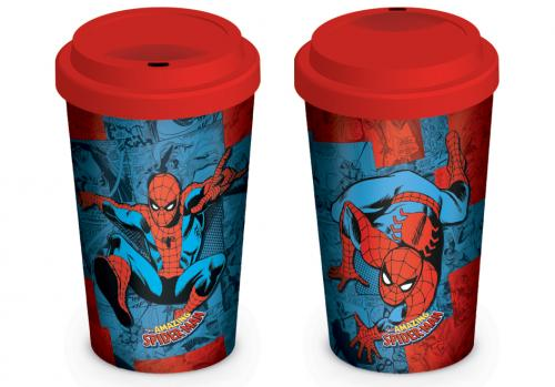 MARVEL - Retro - Spider-man Comic - Mug de voyage 340ml