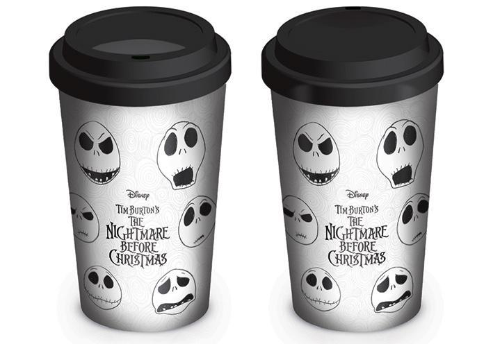 NIGHTMARE BEFORE CHRISTMAS - Travel Mug 340 ml - Face of Jack