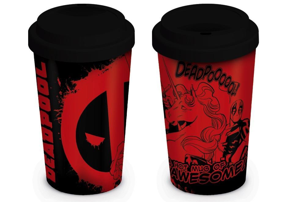 DEADPOOL - Travel Mug 340 ml - Unicorn